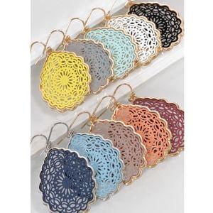 DAYNA Tear Drop Earrings - 8 colors